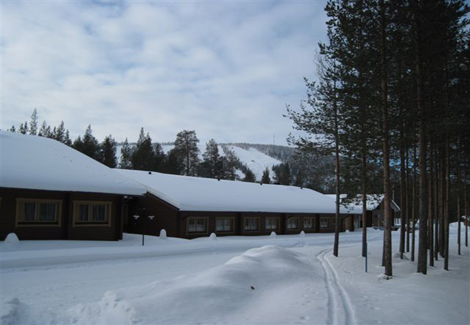 Arctic Circle Hotel - Snowy Winter